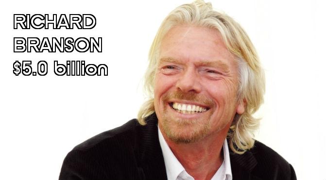 Richest People in England - Richard Branson Final
