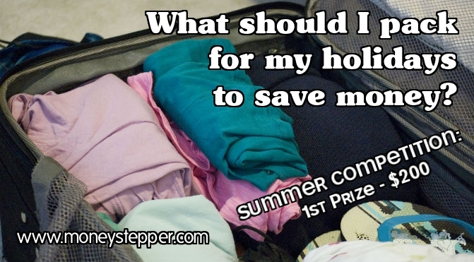 What should I pack for my holidays