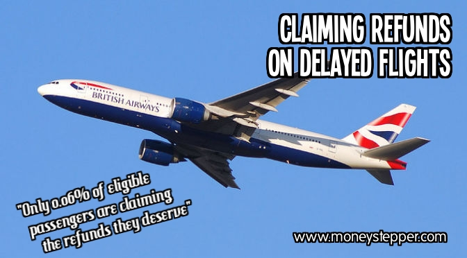 Claiming refunds on delayed flights
