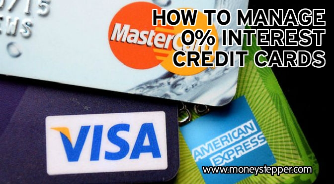 0% interest credit cards