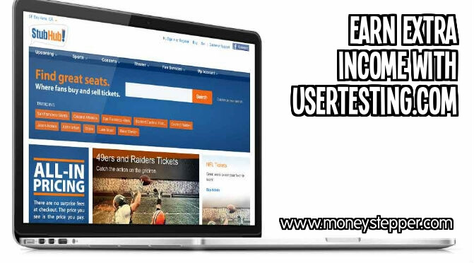 Earn extra income with usertesting.com