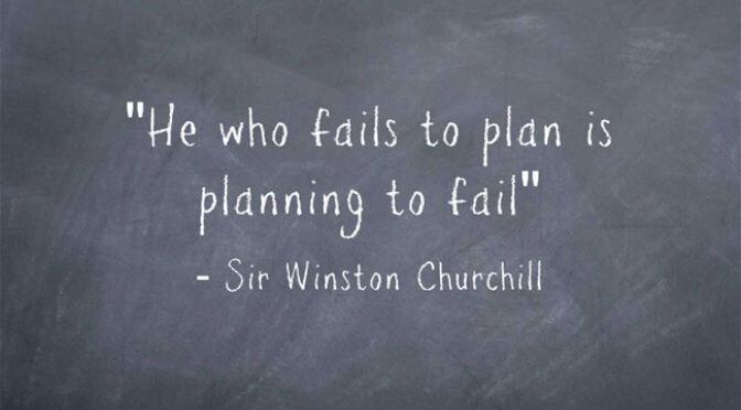 Plan to Fail