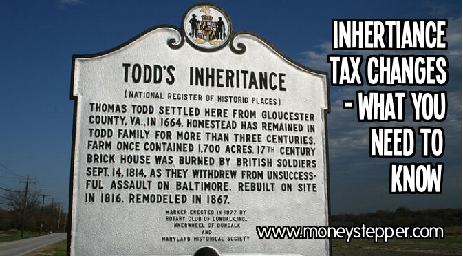 Inheritance Tax Change