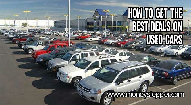 How to get the best deals on used cars