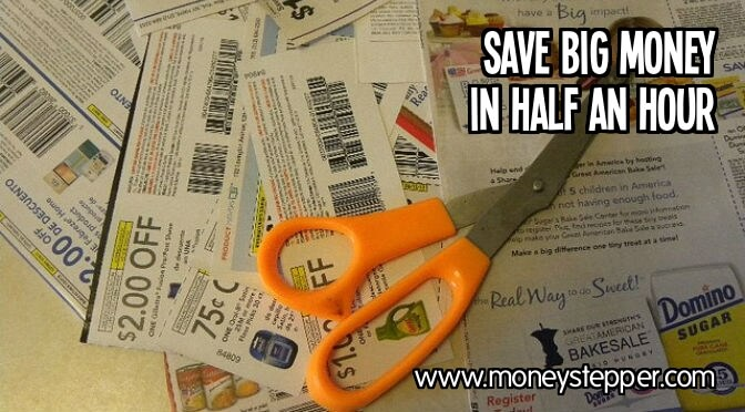 Spend Half An Hour Each Day To Save Big Money
