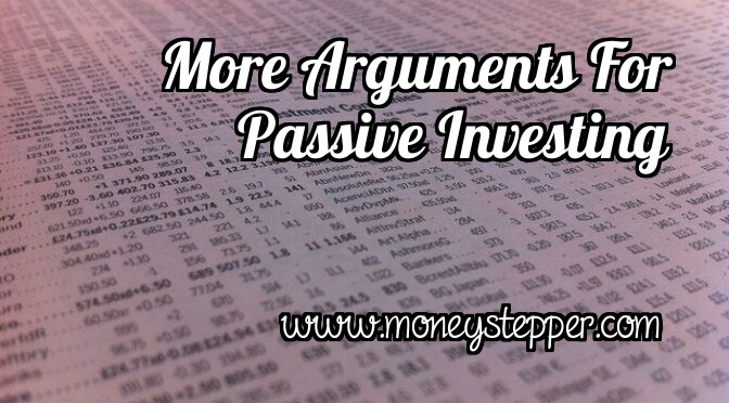 Arguments For Passive Investing