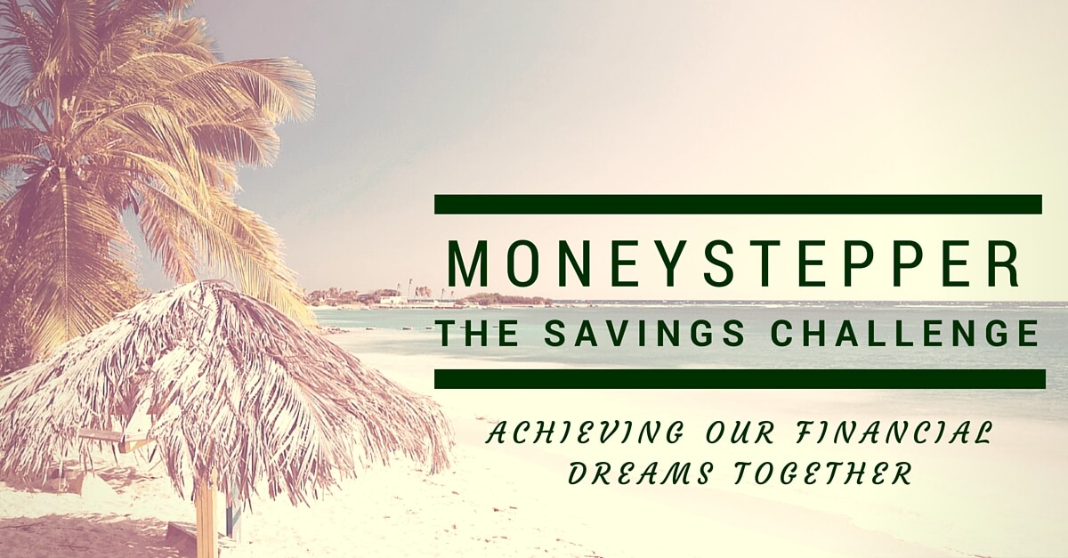 Join The Moneystepper Savings Challenge