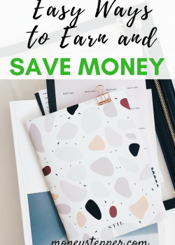 Easy Ways to Earn and Save Money