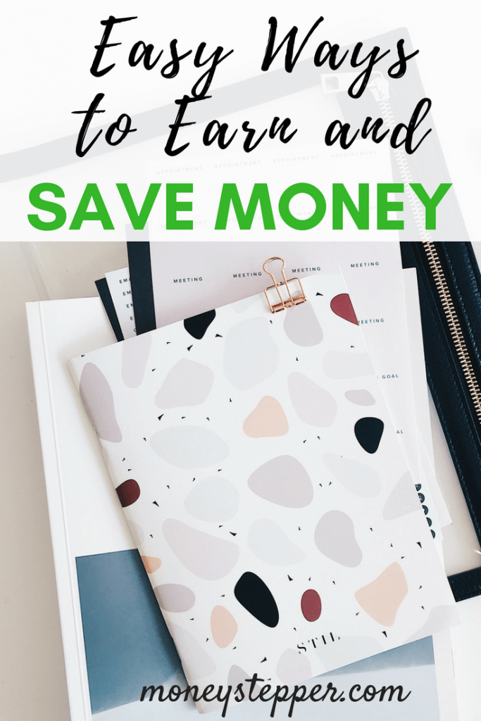 Easy Ways to Earn and Save Money. There's always measures you can take to earn and save money. Of course, you work for a living, but if you want to maximize your earnings, you'll consider learning how to manage your money wisely. With a few personal finance tips, not only help you earn a bit of extra money but help you save it as well. #savemoneytips #savemoneyideas